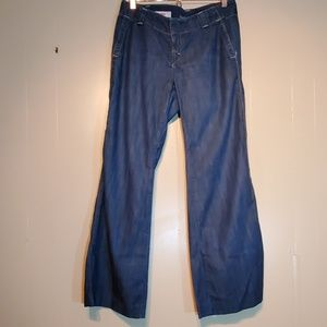 Banana Republic Wide Leg Jean's